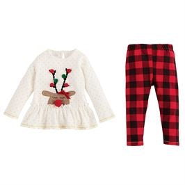 Sleepy Reindeer Tunic and Leggings