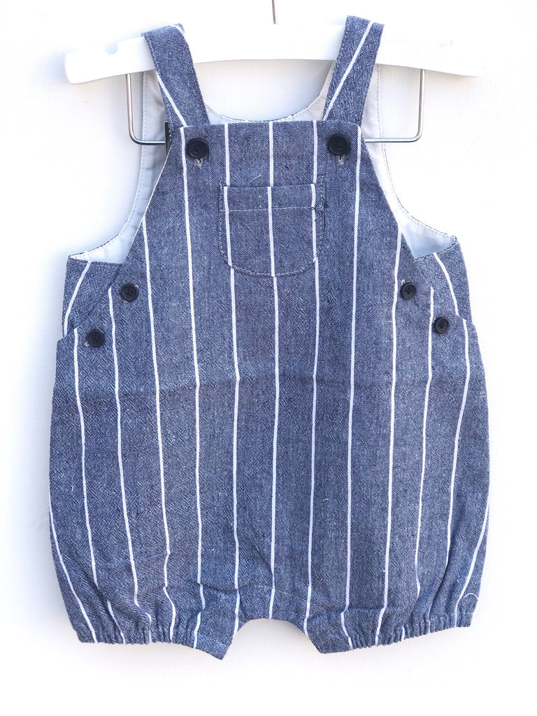 Striped Chambray