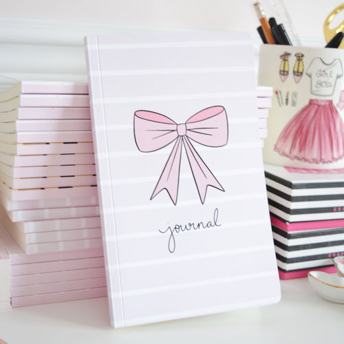 Pretty Bow Notebook