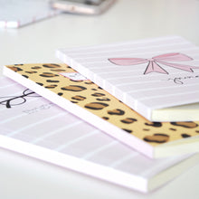 Load image into Gallery viewer, Animal Print Notebook