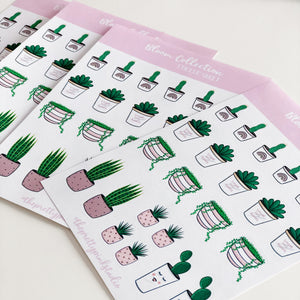 Bloom Collection Sticker Sheet