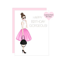 Load image into Gallery viewer, Happy Birthday Gorgeous Birthday Card