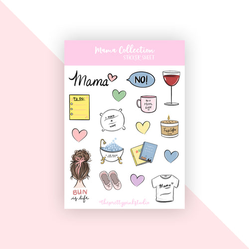 Mama Collection Sticker Sheet