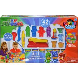 PJ Masks 3 in 1 Ultimate Softee Dough Playset-42pcs (12)