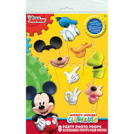 Mickey Clubhouse Photo Props, 8ct.