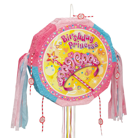 Pretty Princess Drum Pull Pop Out Pinata