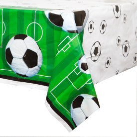 Soccer 3D Printed Plastic Table Cover, 54