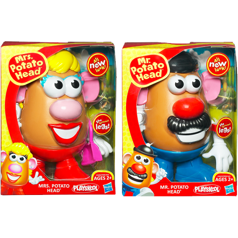 Mr. and Mrs. Potato Head Classic Assortment (4)