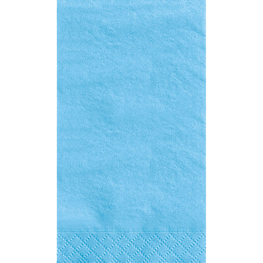 Powder Blue Solid Guest Towels, 20ct