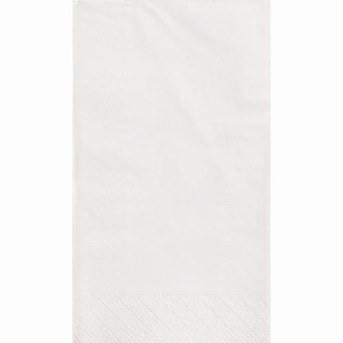 White Solid Guest Towels, 20ct
