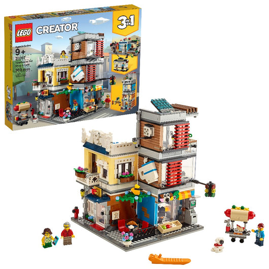 LEGO Townhouse Pet Shop & Cafe 31097 (3)