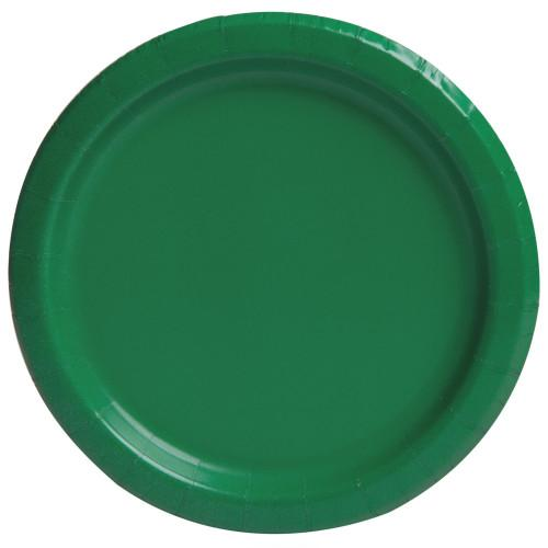 Emerald Green Solid Round 7