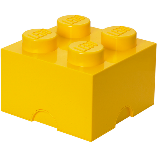 LEGO Storage Brick 4 Bright Yellow 40030632 (6)