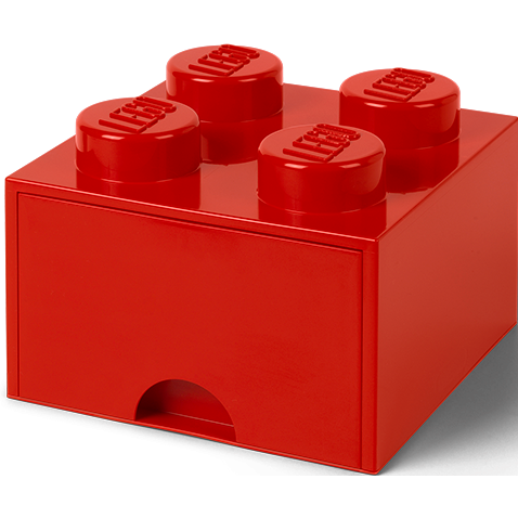 LEGO Brick Drawer 4 Bright Red 40051730 (6)