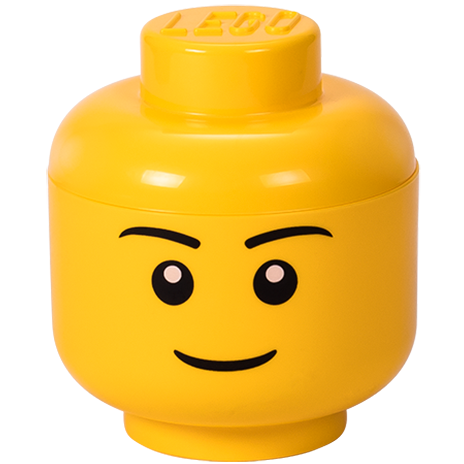 LEGO Storage Head Small-Boy Bright Yellow 40311724 (3)