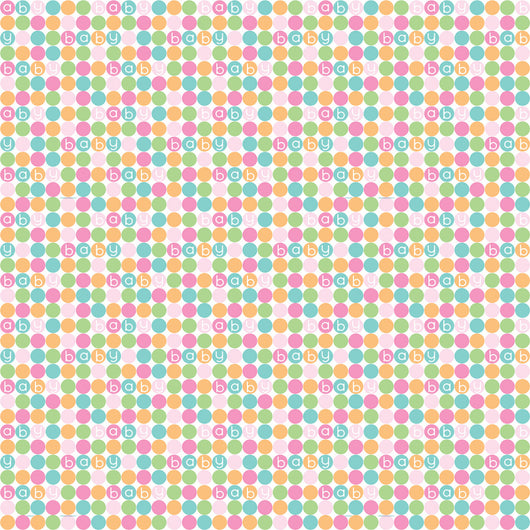 Pastel Baby Shower Gift Wrap, 30