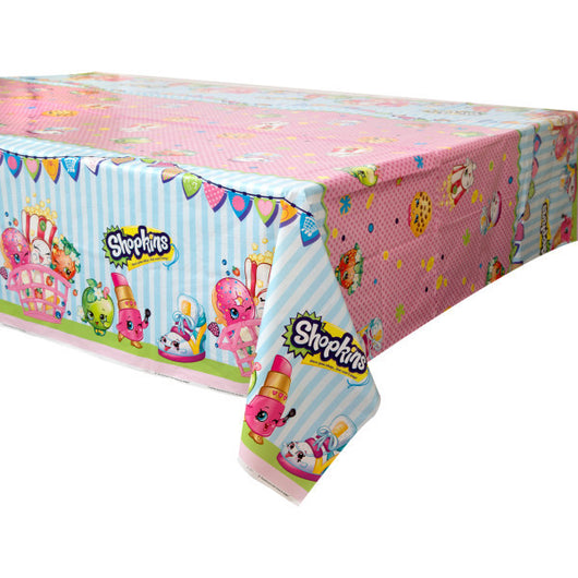 Shopkins Printed Plastic Tablecover, 54