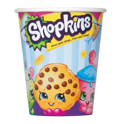 Shopkins 9oz Paper Cups, 8ct.
