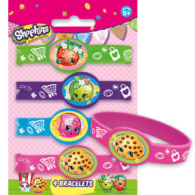 Shopkins Stretchy Bracelets, 4ct.