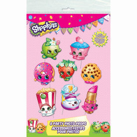 Shopkins Photo Props, 8ct.