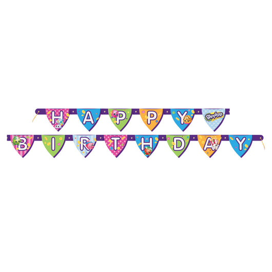 Shopkins Birthday Banner, 1ct.