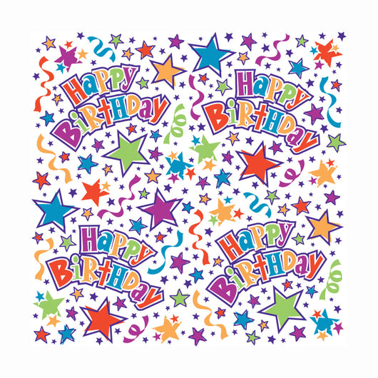 Birthday Stars Gift Wrap, 30