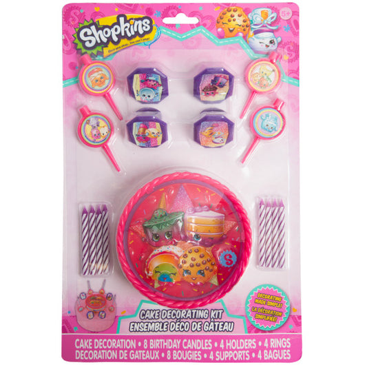 Shopkins Cake Decorating Kit, 17pc