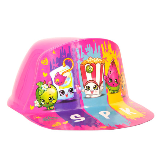 Shopkins Vacuum Formed Plastic Hat