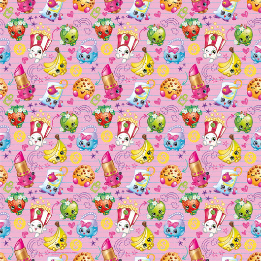 Shopkins Gift Wrap Roll, 30
