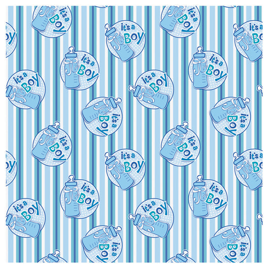It's a Boy Bottle Gift Wrap, 30
