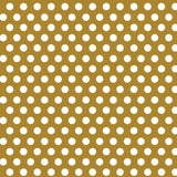 "Gold Dots Gift Wrap, 30"" x 5 ft"