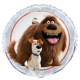 The Secret Life of Pets Round Foil Balloon 18