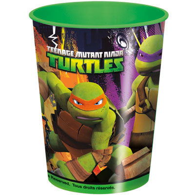 Ninja Turtles Party Favor Plastic Cup 16oz