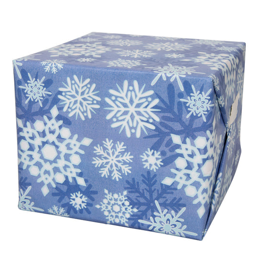 Winter Snowflake Gift Wrap, 30