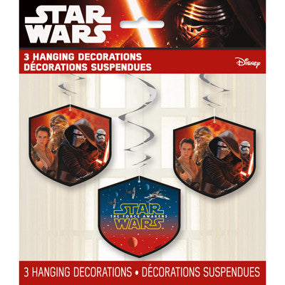 Star Wars Episode VII Hanging Swirl Decorations, 26