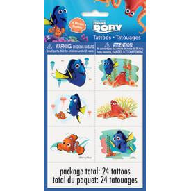 Finding Dory Tattoo Sheets, 4ct.