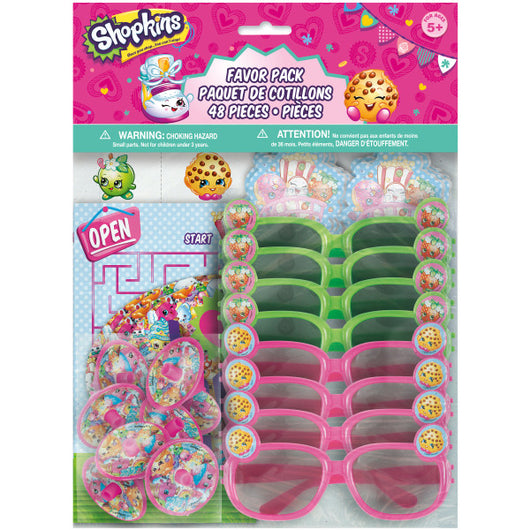 Shopkins Favor Pack, 48ct