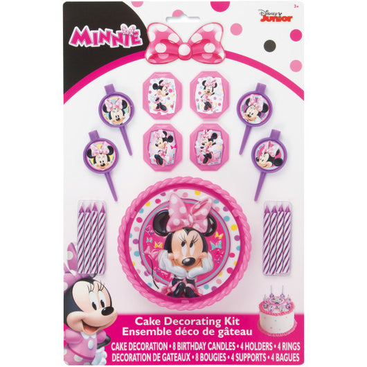 Disney Minnie Bowtique Cake Decorating Kit, 17pc