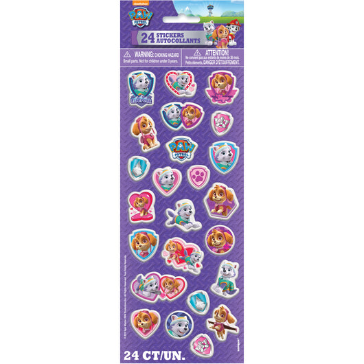 Paw Patrol Girl Puffy Sticker Sheet, 1ct