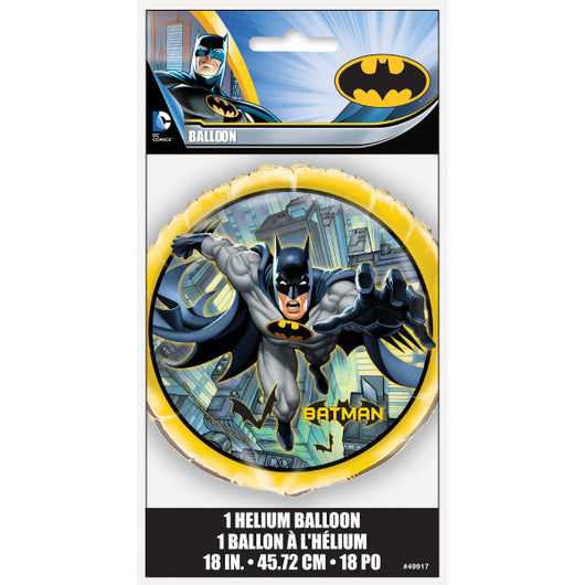 Batman Round Foil Balloon 18
