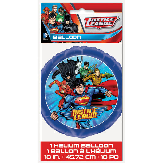 Justice League Round Foil Balloon 18