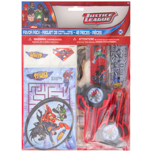 Justice League Favor Pack, 48ct