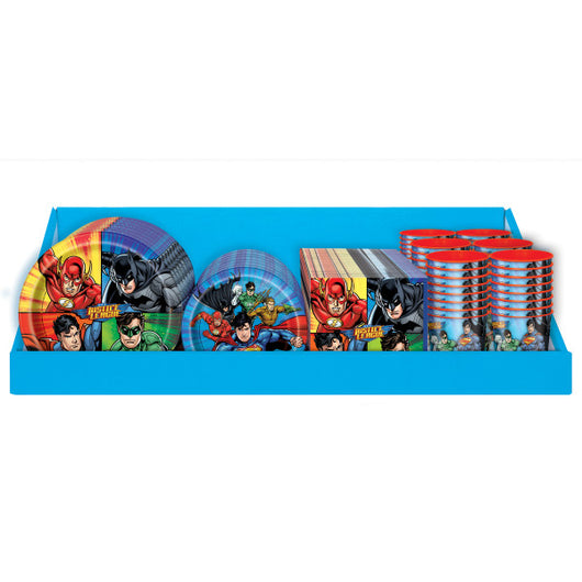 Justice League Counter C Display 120pc