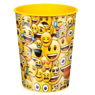 Emoji Smile Party Favor Plastic Cup 16oz