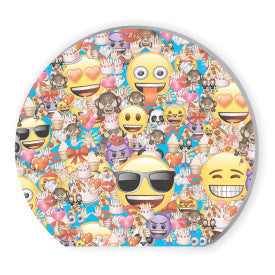 Emoji Shaped Notepads Party Favors, 4ct.