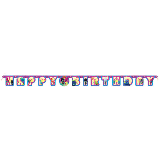 Trolls Jointed Birthday Banner, 1ct.
