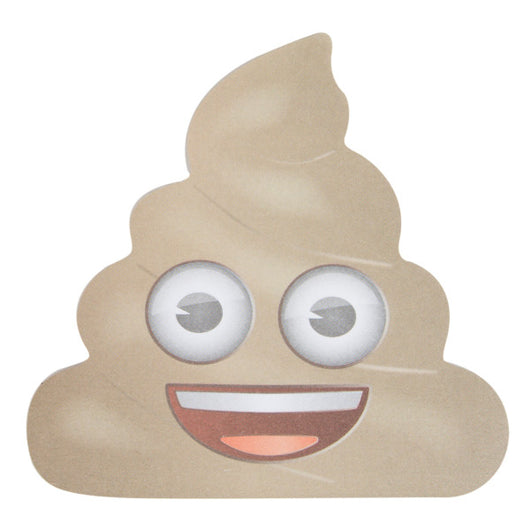 Emoji Poop Notepad, 50 Sheets