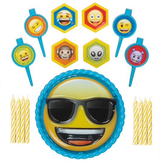 Emoji Cake Decorating Kit, 17pc