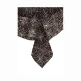 "Spider Web Rectangular Plastic Table Cover, 54""x84"""