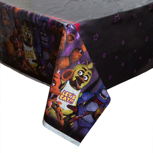 Five Nights at Freddy's Rectangular Plastic Table Cover, 54